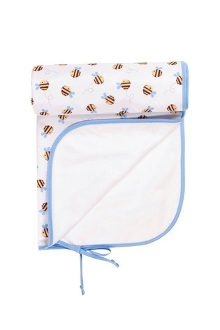 TotsBots Buzzy Bees Baby Changing Mat