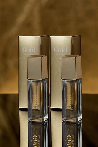 Set of 2 Gold 10ml Eau De Parfum