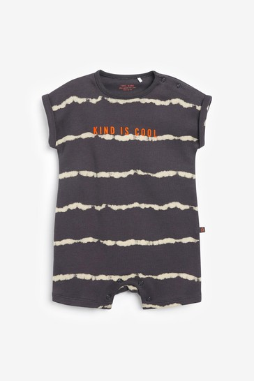 Monochrome 2 Pack Tie Dye Rompers (0mths-3yrs)