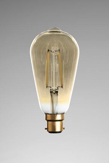 4W LED BC Retro Pear Bulb