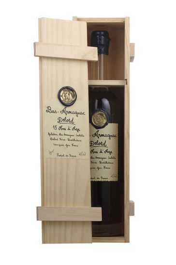 BasArmagnac 15 Year Old Delord 70cl Single by Le Bon Vin