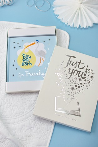 Personalised On The Day You Were Born Book by Signature Book Publishing