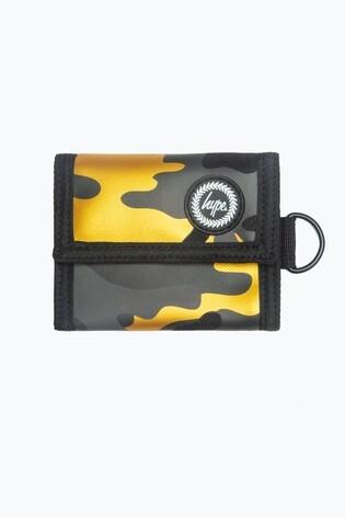 Hype. Gold Camo Wallet