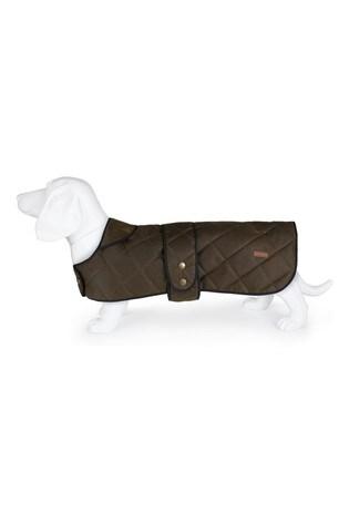 Regatta Green Quilted Dog Wax Jacket