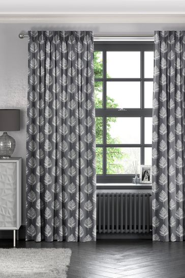 Stellard Flint Grey Made To Measure Curtains