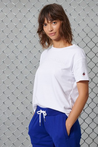 Superdry Sportstyle Embossed T-Shirt