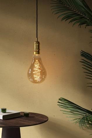 Spiral Deco Standard Gold Finish 85W E27 Bulb by Nordlux