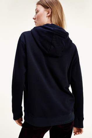 Tommy Hilfiger Blue Icon Relaxed Hoody