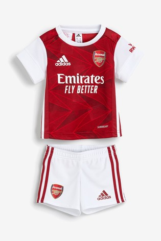 adidas Arsenal Home 20/21 Baby Kit