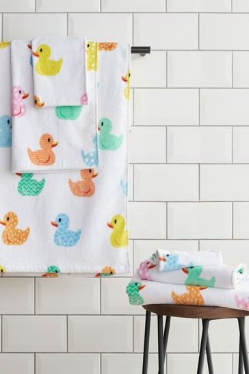 6 Piece Rubber Duck Towel Bale by Catherine Lansfield