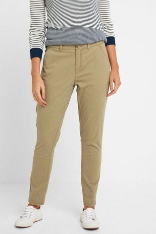 Tog 24 Womens Tan Pickering Regular Chino Trousers