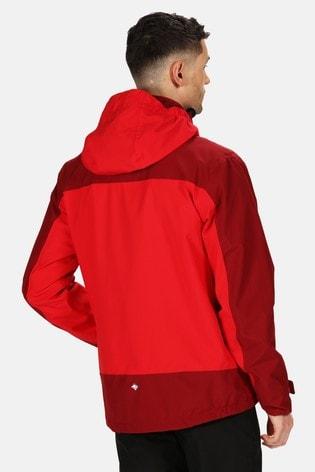 Regatta Red Wentwood V 3-In-1 Waterproof Jacket