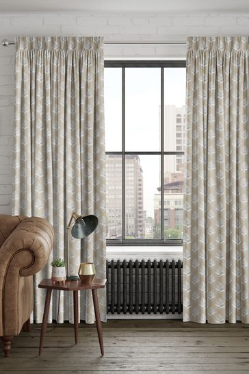 Oyster Natural Stellard Made To Measure Curtains
