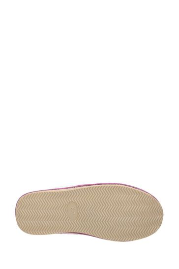 Hush Puppies Pink Arianna Mule Slippers