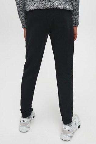 Calvin Klein Jeans Black Stretch Slim Sweatpants