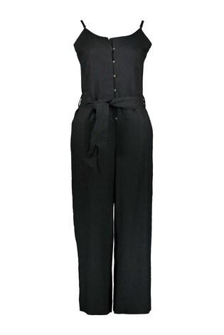 Esprit Black Belted Jumpsuit