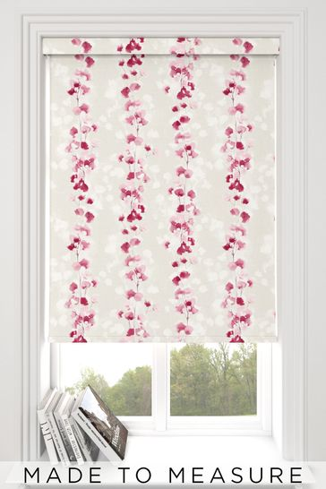 Tatton Rose Pink Made To Measure Roller Blind