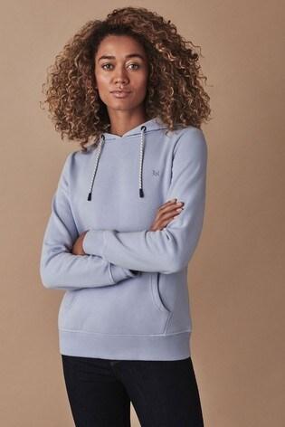 Crew Clothing Company Blue Ash Hoody