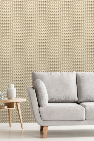 Exclusive To Next Floral Geo Wallpaper by Urban Walls