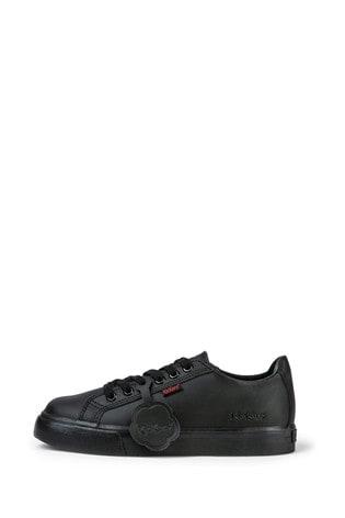 Kickers® Black Tovni Lace Trainers