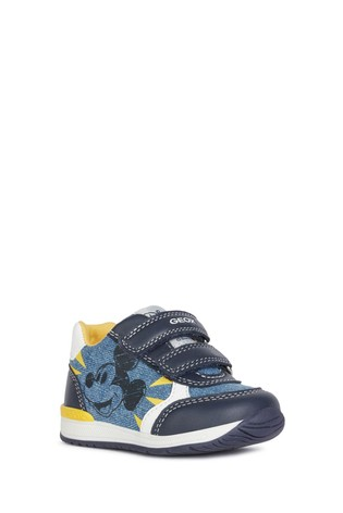 Geox Baby Boy's Avio/Navy Rishon Shoes