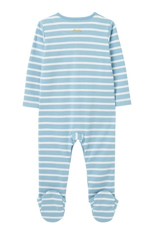 Joules Ziggy Organically Grown Cotton Printed Sleepsuit