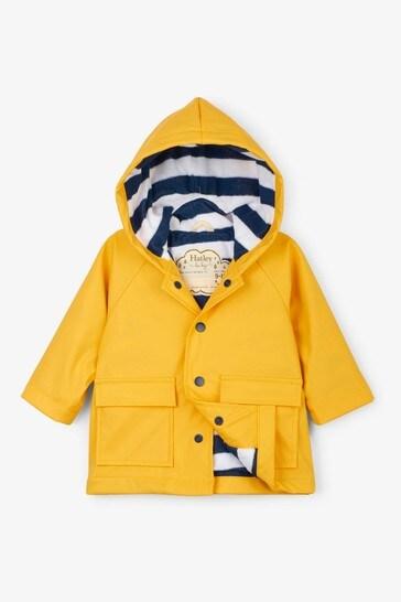 Hatley Yellow Baby Classic Raincoat