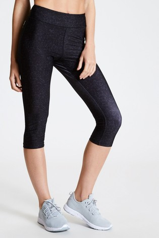 Dare 2b Black Influential 3/4 Tight Leggings