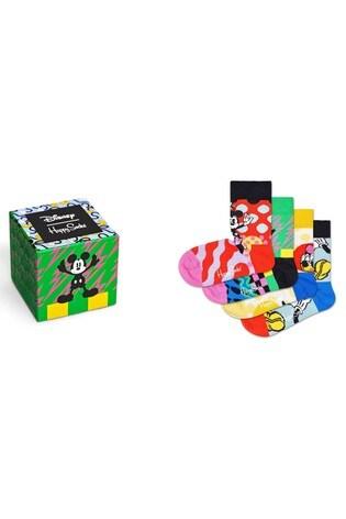 Happy Socks Disney™ Kids Four Pack Gift Box