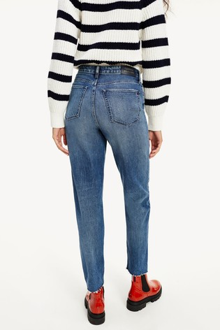 Tommy Hilfiger Blue Gramercy Tapered Jeans