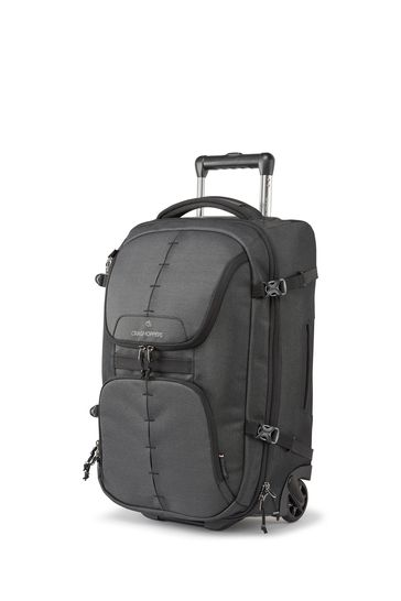 Craghoppers Black 40L Wheelie Bag
