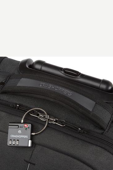 Craghoppers Black 40L Wheelie Bag
