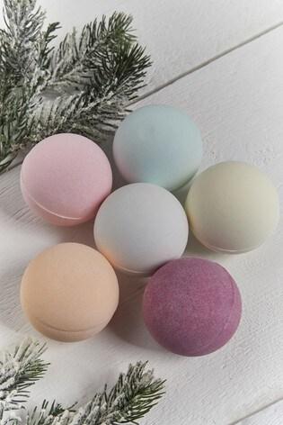 Set of 6 Fragrance Bath Bombs Gift Set
