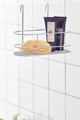 Over Shower Chrome Basket