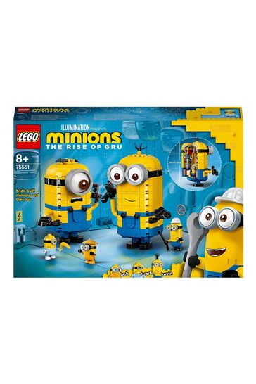 LEGO 75551 Minions Brick-Built Minions & Their Lair Set