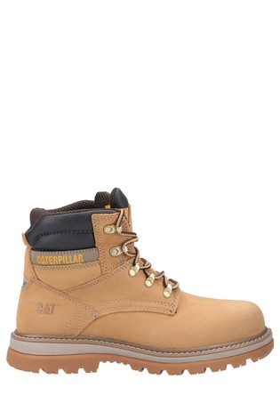 CAT® Brown Fairbanks Lace-Up Safety Boots