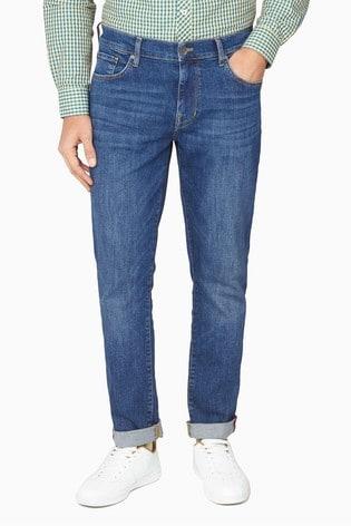 Ben Sherman Blue Five Pocket Jeans