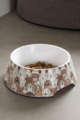 Printed Dog Bowl