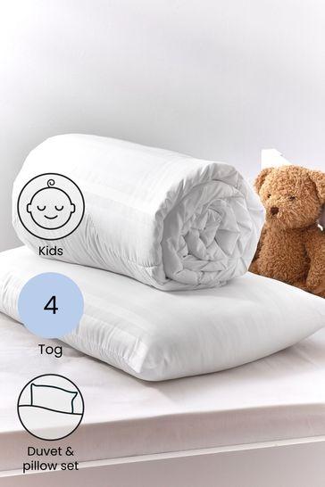 Anti Allergy Junior 4 Tog Duvet And Pillow Set