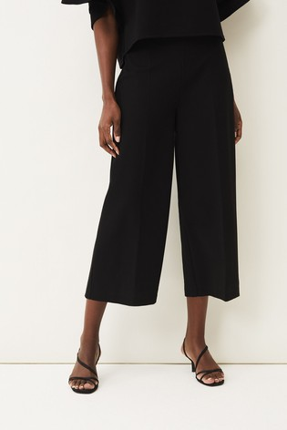 Phase Eight Black Halle Culottes