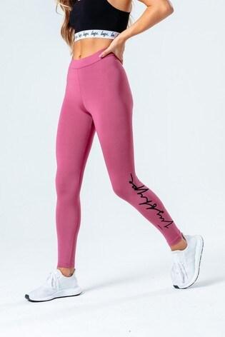 Hype. Womens Pink Berry Leggings