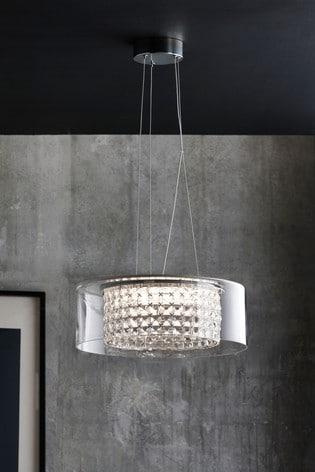 Clear Bijou Pendant Ceiling Light