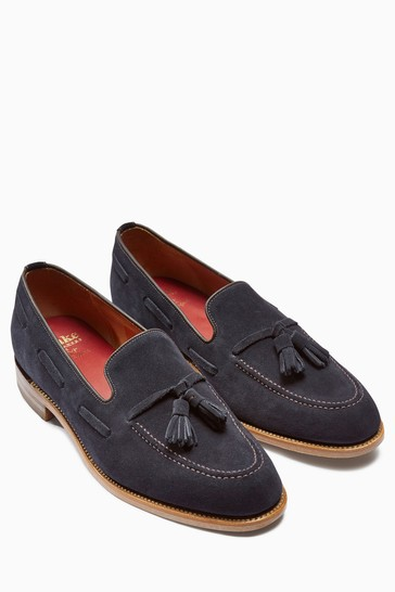 Loake For Next Suede Loafers