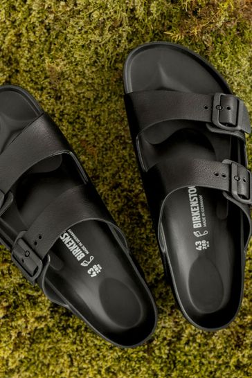 Birkenstock® Black Arizona Eva Sandals
