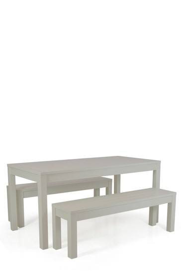 Kin And Country Table And Bench Set