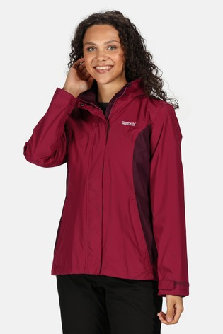 Regatta Purple Daysha Waterproof Jacket