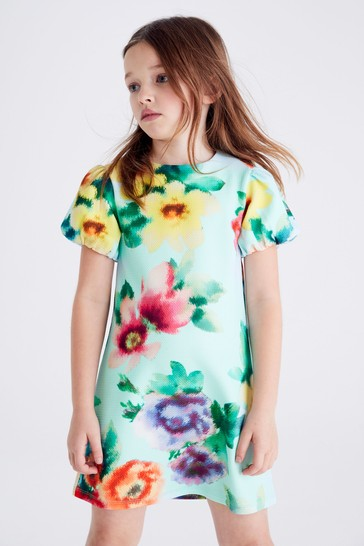 Large Floral Occasion Dress (3-16yrs)