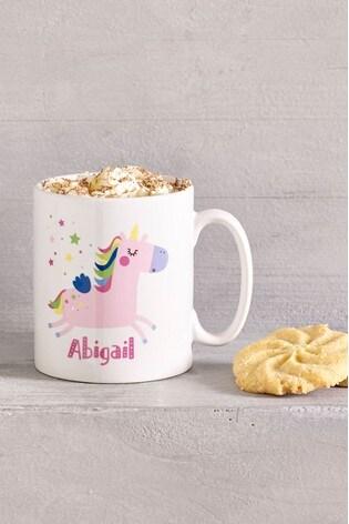 Personalised Unicorn Mug by Loveabode