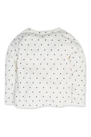 M&Co Sequin Heart T-Shirt
