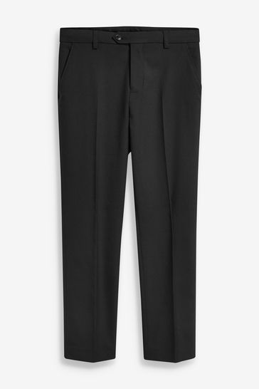 Black Tailored Fit Suit Trousers (12mths-16yrs)